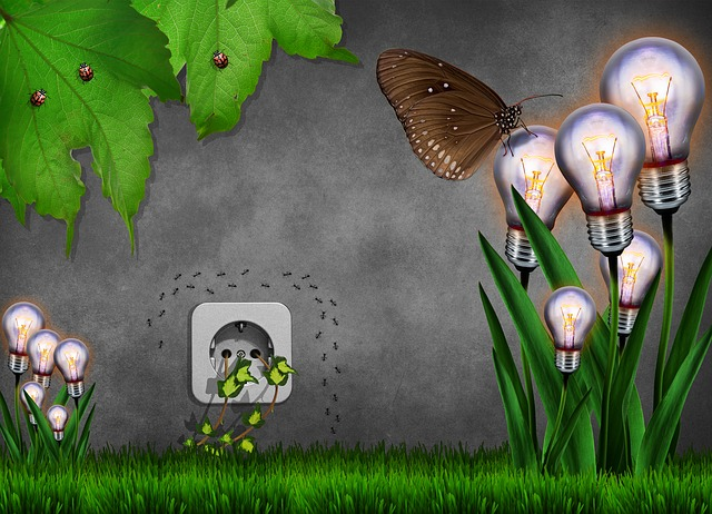 žárovky jako květy
