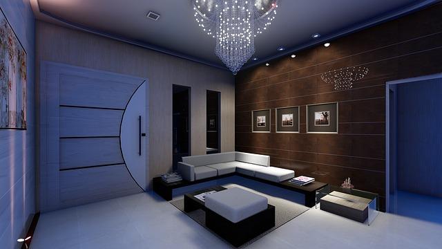 moderní lustr