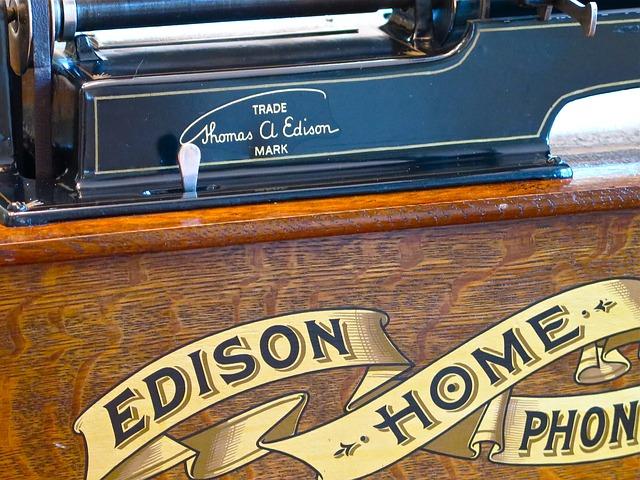 edison gramofon