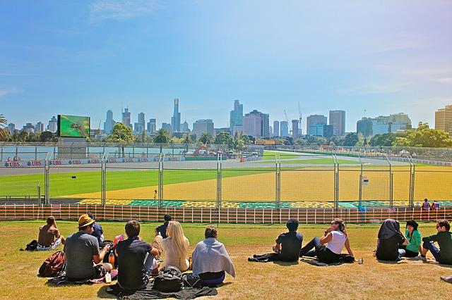 Melbourne Austrálie